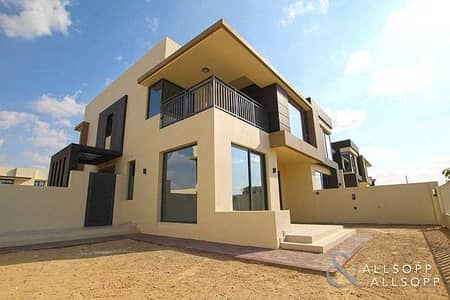 5 Bedroom Townhouse for Sale in Dubai Hills Estate, Dubai - 5 Bed+Maid | Corner | Pool and Park Facing