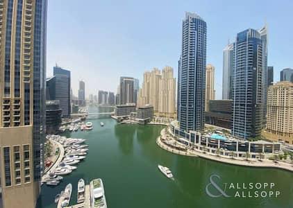 3 Bedroom Flat for Sale in Dubai Marina, Dubai - Full Marina   Terrace Space   3 Bed + Maid