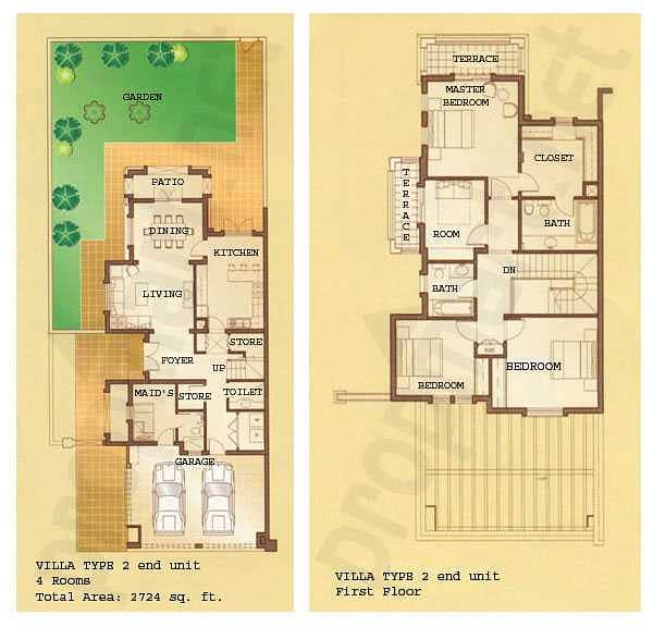 12 4 Bed | External Maids | Upgraded | Pool
