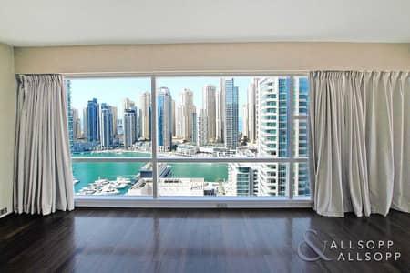 فلیٹ 3 غرف نوم للبيع في دبي مارينا، دبي - Fully Upgraded | Three Bed | Marina Views