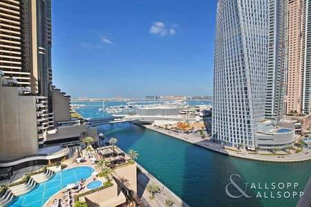 2 Bedroom Flat for Sale in Dubai Marina, Dubai - Two Bedrooms   Sea Facing   Two Balconies