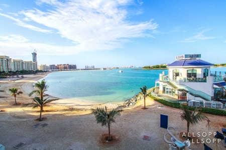 شقة 2 غرفة نوم للبيع في نخلة جميرا، دبي - Biggest Balcony | Full Sea/ Burj View | VOT