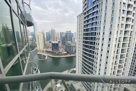 فلیٹ 1 غرفة نوم للبيع في دبي مارينا، دبي - Exclusive | Partial Marina View | 1 Bed