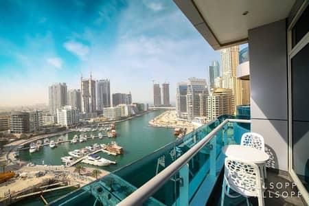 1 Bedroom Apartment for Sale in Dubai Marina, Dubai - Marina View | One Bedroom | 908 Sq. Ft.