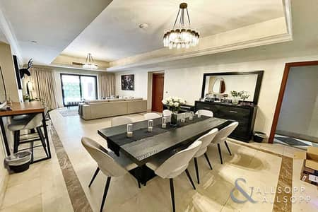 3 Bedroom Townhouse for Sale in Palm Jumeirah, Dubai - 3 Bedrooms | 3 Space Garage | Townhouse