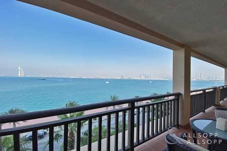 فلیٹ 2 غرفة نوم للبيع في نخلة جميرا، دبي - Must See | Full Burj View | Vacant | 2 Bed