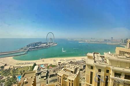 فلیٹ 3 غرف نوم للبيع في جميرا بيتش ريزيدنس، دبي - Full Sea View | Upgraded Duplex | 3 Beds