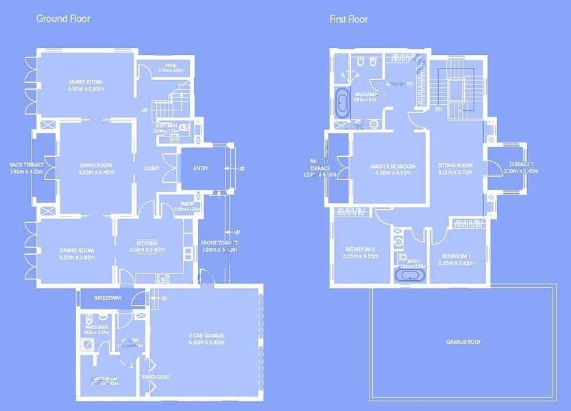 16 Single Row | Three Bedroom | Quortaj Style
