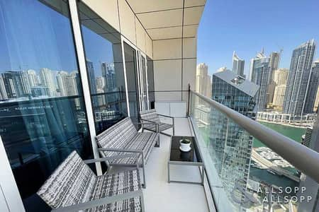 شقة 1 غرفة نوم للبيع في دبي مارينا، دبي - Marina Views | Upgraded | Close to Metro