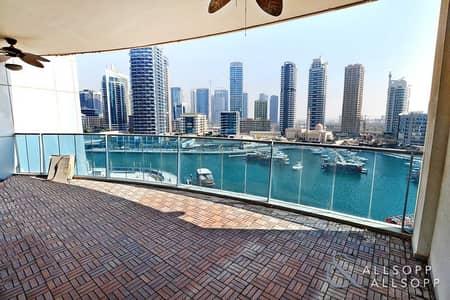 2 Bedroom Apartment for Sale in Dubai Marina, Dubai - Upgraded   Marina Views   2 Bed plus Maid