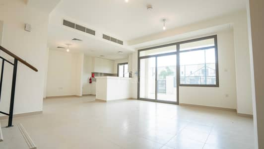 3 Bedroom Townhouse for Sale in Town Square, Dubai - On the green belt | Brand new  | Ready