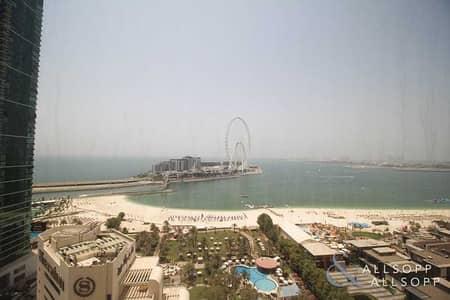 فلیٹ 2 غرفة نوم للبيع في جميرا بيتش ريزيدنس، دبي - Two Beds And Three Bath | Sea Views | VOT
