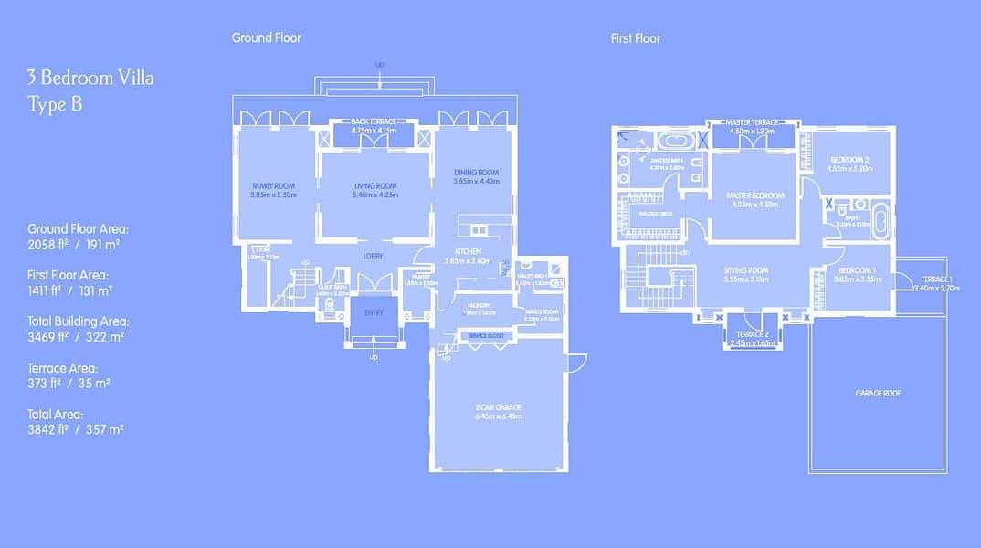 22 3 Bed Villa | Dubai Style | Coming Vacant
