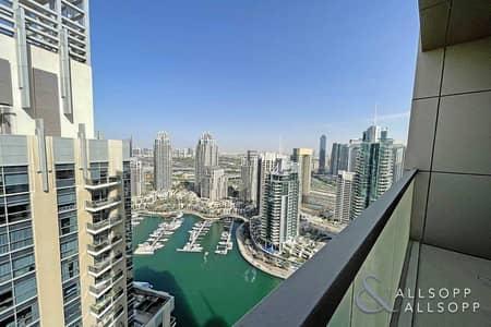 شقة 2 غرفة نوم للبيع في دبي مارينا، دبي - 2 Bed Brand New | Full Marina and Sea View