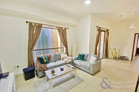 1 Bedroom Flat for Sale in Jumeirah Beach Residence (JBR), Dubai - One Bedroom | Marina View | Corner Unit