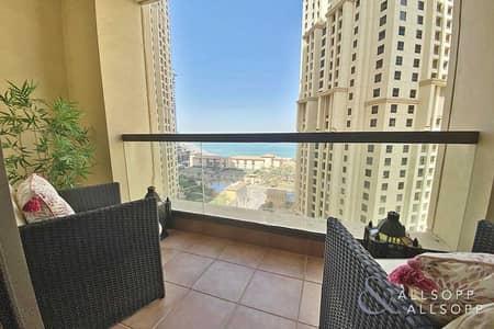 1 Bedroom Apartment for Sale in Jumeirah Beach Residence (JBR), Dubai - Sea Views   Upgraded   1 Bed   2 Balconies