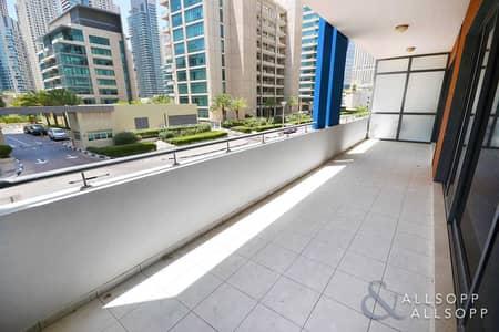 شقة 4 غرف نوم للبيع في دبي مارينا، دبي - Azure - Four Bedroom Duplex - Ground Floor - 2885 Sq. Ft - Vacant