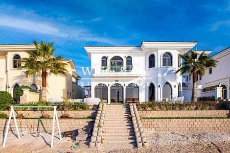 فیلا 5 غرف نوم للايجار في نخلة جميرا، دبي - Fully Furnished | Amazing Views | Vacant