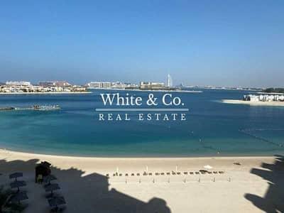 فلیٹ 3 غرف نوم للايجار في نخلة جميرا، دبي - 3bed+Maid  Shoreline   Multiple cheques