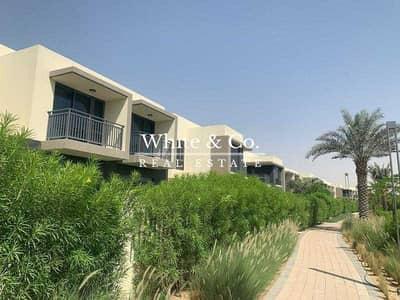 تاون هاوس 4 غرف نوم للايجار في دبي هيلز استيت، دبي - Brand New | Single Row | Great Location