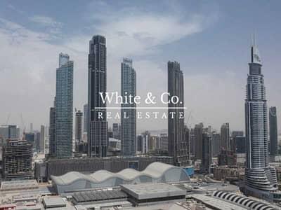 فلیٹ 1 غرفة نوم للايجار في وسط مدينة دبي، دبي - BRIGHT LAYOUT / VACANT / OPEN PLAN KITCHEN