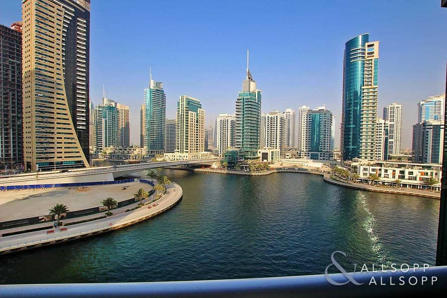 2 Full Marina Views | Large Two Bed Layout