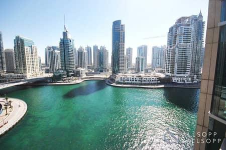 2 Bedroom Flat for Sale in Dubai Marina, Dubai - Full Marina Views   Large Two Bed Layout