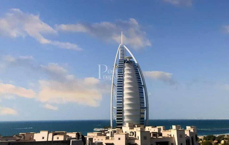 Free-Hold in Jumeirah    Facing Burj Al Arab   Book it