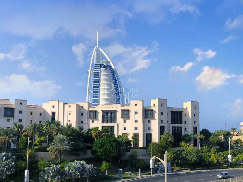 2 Free-Hold in Jumeirah    Facing Burj Al Arab   Book it