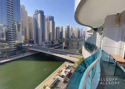 2 Bedroom Apartment for Sale in Dubai Marina, Dubai - Upgraded | Full Marina View | Two Bedroom