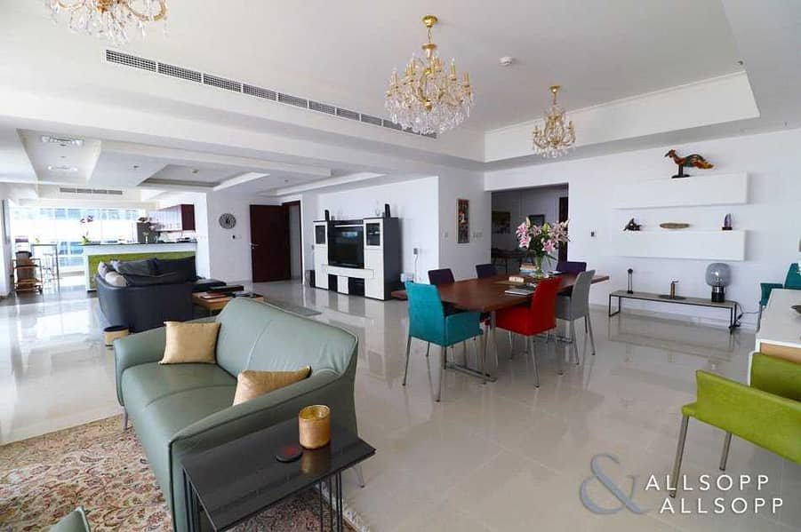 2 Full Sea | Upgraded Layout | 3 Bed + Maid