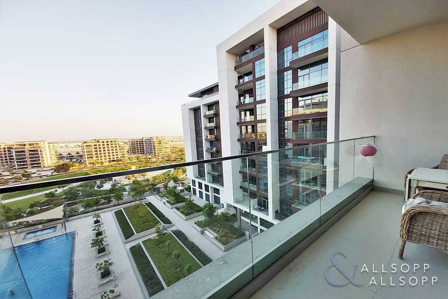 29 3 Bedroom | Pool and Park View | Available