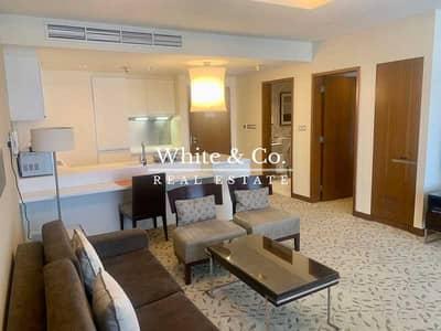 شقة 1 غرفة نوم للايجار في وسط مدينة دبي، دبي - FULLY FURNISHED | DUBAI MALL ACCESS | LUXURY