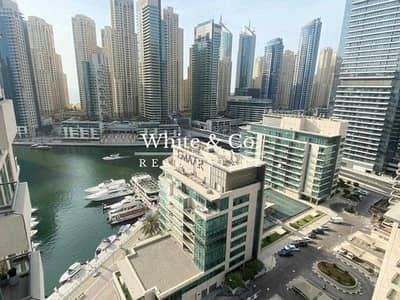 فلیٹ 1 غرفة نوم للبيع في دبي مارينا، دبي - Marina Views - Great Location - Vacant Now