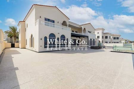 6 Bedroom Villa for Rent in Palm Jumeirah, Dubai - EXTENDED PLOT AVAILABLE NOW UNFURNISHED
