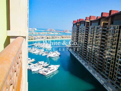 2 Bedroom Flat for Sale in Palm Jumeirah, Dubai - High Floor   Partial Sea view   Tenanted