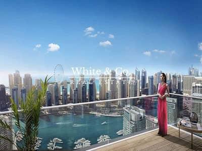 4 Bedroom Penthouse for Sale in Dubai Marina, Dubai - Genuine Resale - Top Floor Penthouse - Marina View