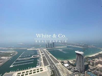 5 Bedroom Penthouse for Sale in Dubai Marina, Dubai - Incredible Sea Views - 5bed Penthouse - VOT