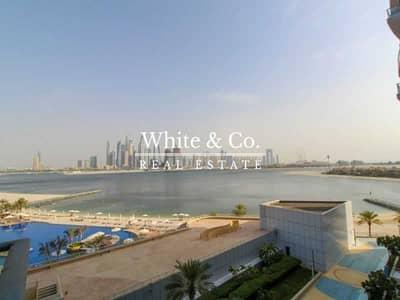 شقة 1 غرفة نوم للايجار في نخلة جميرا، دبي - Sea Views| Mid Floor| AVAILABLE JUNE