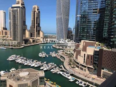 شقة 3 غرف نوم للايجار في نخلة جميرا، دبي - STUNNING MARINA VIEWS | UPGRADED | VACANT