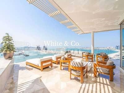 بنتهاوس 4 غرف نوم للبيع في نخلة جميرا، دبي - Scenic Penthouse View with Private Pool