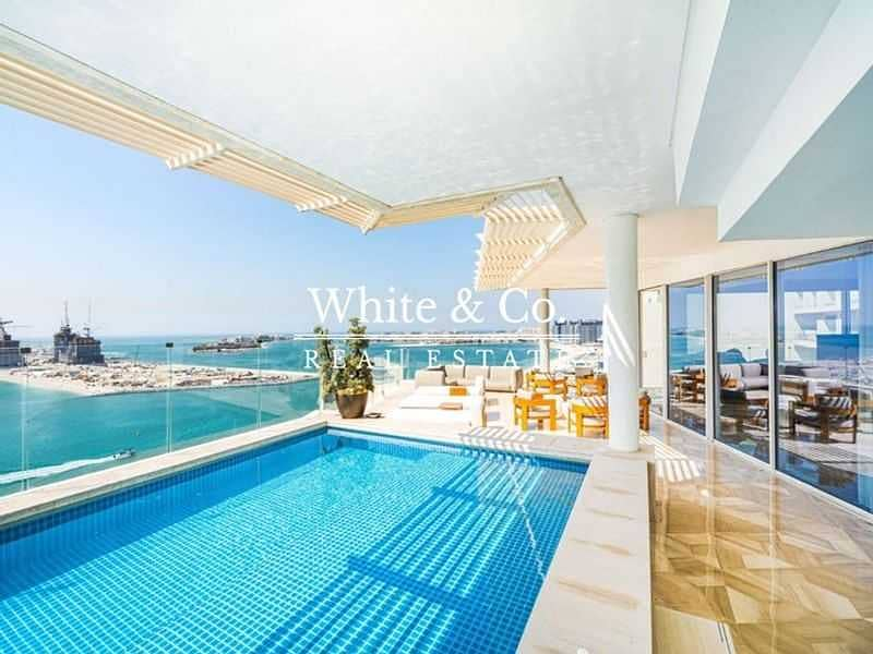 2 Scenic Penthouse View with Private Pool