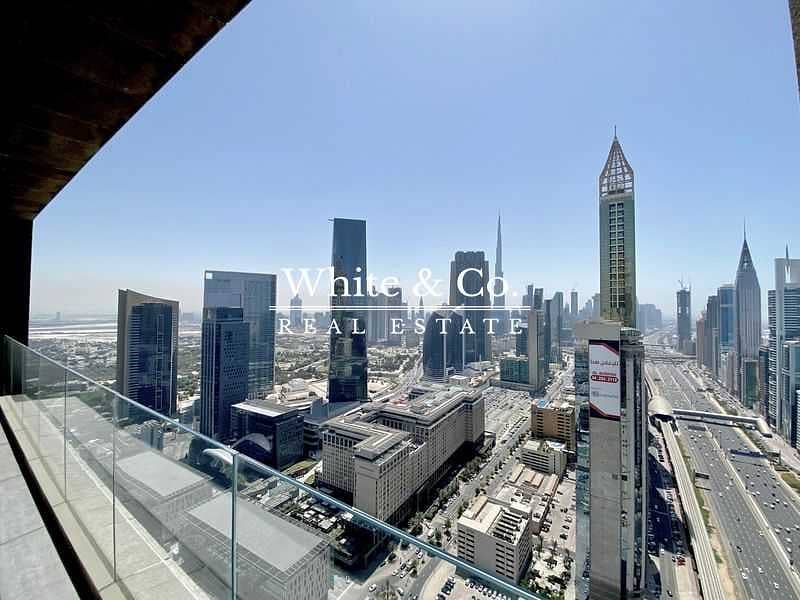Burj Khalifa View | Large Layout | 2 Balcony