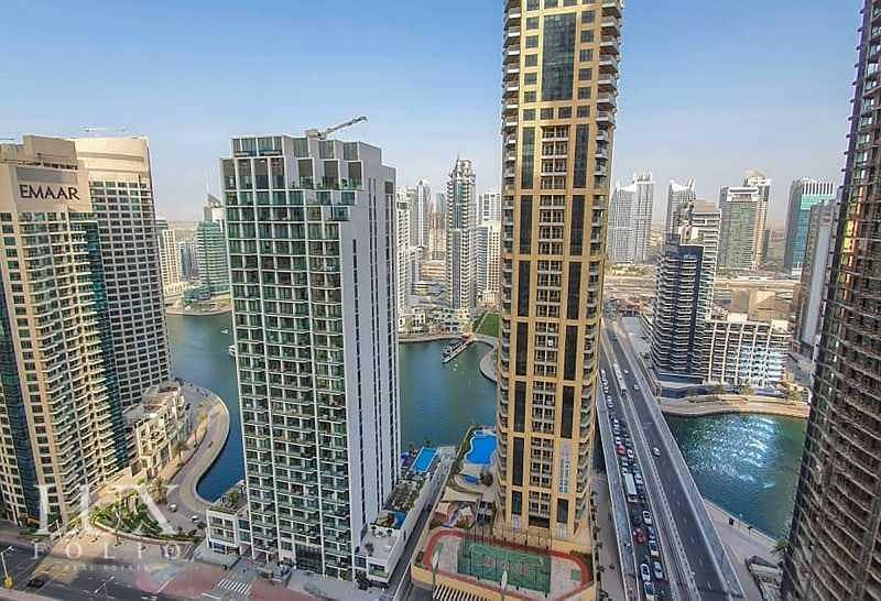 2 Marina Views | Unfurnished | Bright & Spacious