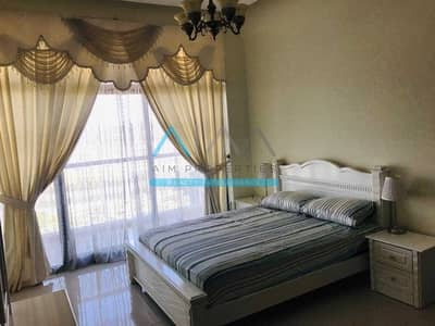 شقة 1 غرفة نوم للايجار في واحة دبي للسيليكون، دبي - Fully-Furnished_1Bedroom+Laundry Room_Only@50K