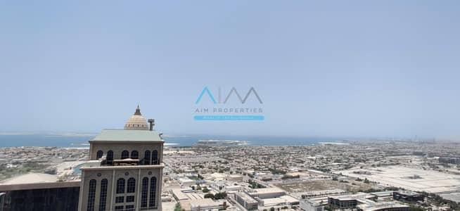 فلیٹ 3 غرف نوم للايجار في الخليج التجاري، دبي - Full Surround View   Large 3 Bedroom   High Floor   Burj Khalifa Direct View   Noora Tower   Habtoor City