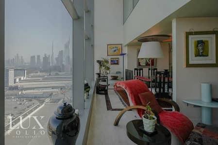 شقة 3 غرف نوم للبيع في مركز دبي التجاري العالمي، دبي - Duplex | Fully Upgraded | High Floor
