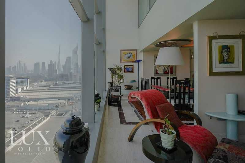 Duplex   Fully Upgraded   High Floor
