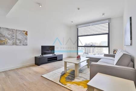 شقة 2 غرفة نوم للايجار في الجداف، دبي - Brandnew_Fully-Furnished_2Bedrooom+Laundry+Dinning_Only@75K