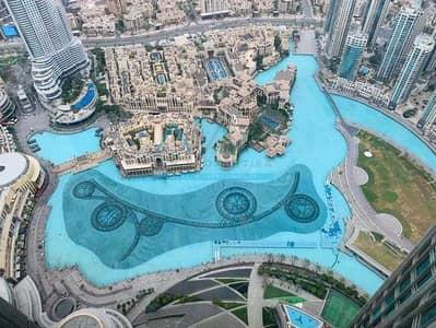 2 Bedroom Apartment for Rent in Downtown Dubai, Dubai - FOUNTAIN VIEW 2 BR+MAID IN BURJ KHALIFA